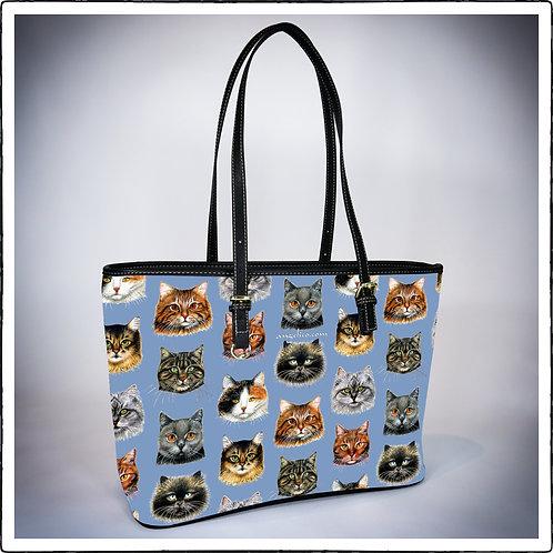 Katzen hellblau
