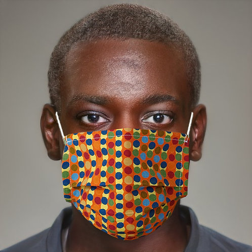 Gesichtsmaske Tupfen multicolor   limited edition