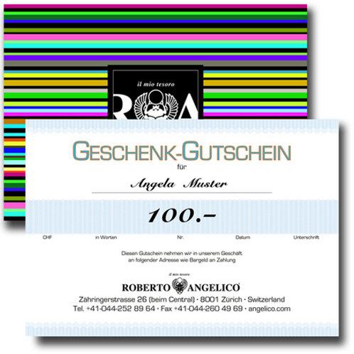 Geschenkgutschein 100.-