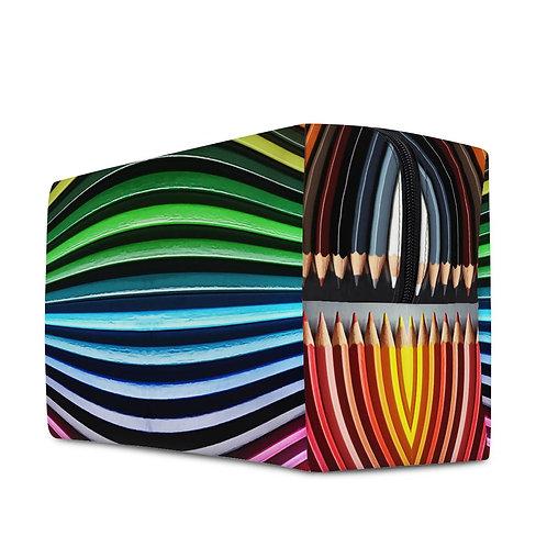 XL-Necessaire   Kulturbeutel Farbstifte multicolor