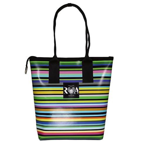 Shopper Mini Streifen pastell