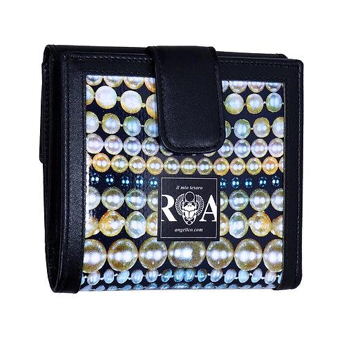 Brieftasche Maxi Perlen