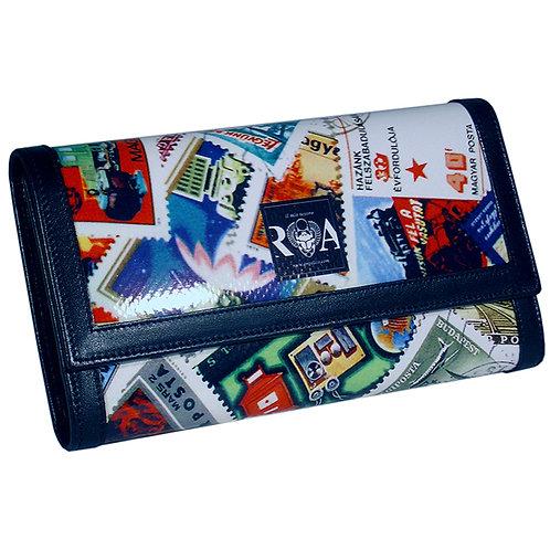 Brieftasche Deluxe Briefmarken
