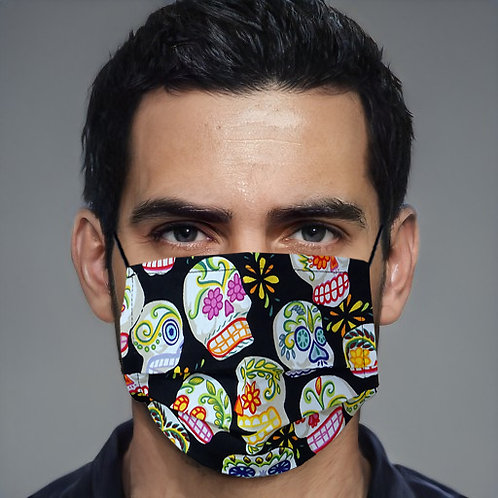 Gesichtsmaske Skull multicolor | limited edition