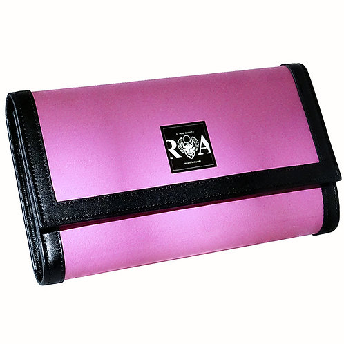 Brieftasche Deluxe  uni pink