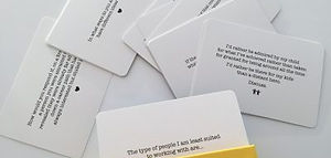 Fulfillment at work prompt cards