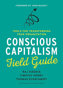 Book cover of Conscious Capitalism