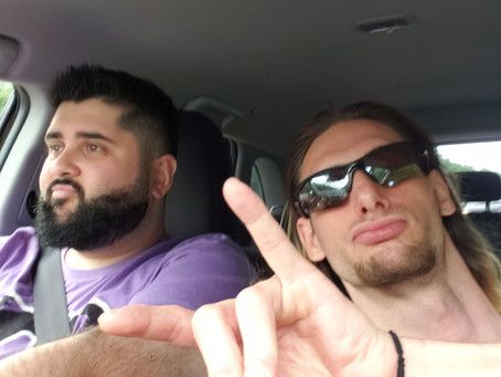 Being On The Road With A Wrestler