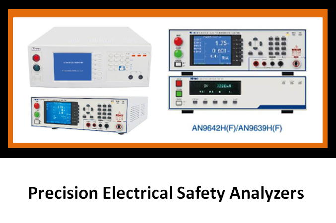 Precision Electrical Safety Analyzers