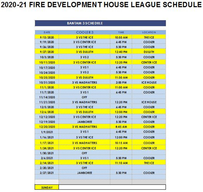 2020 BANTAM 3 HOUSE SCHEDULE.JPG