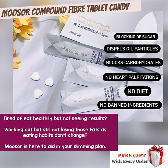 Moosor Fibre Candy