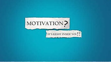 Lacking Motivation???? Read on