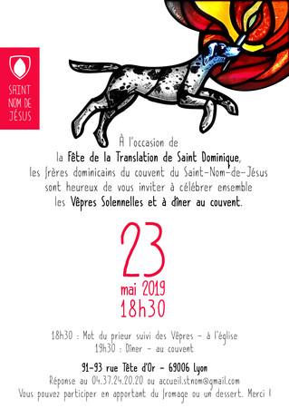 Fête de Saint Dominique