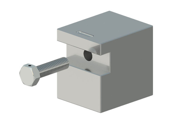 Assembly Singular Bolt Block and Drilled
