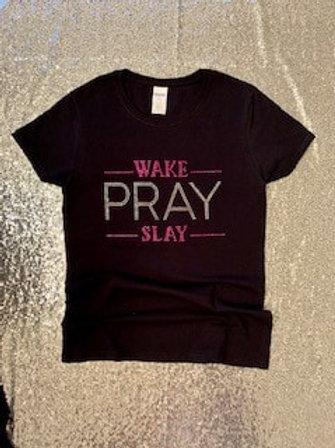Wake Pray Slay-Pink