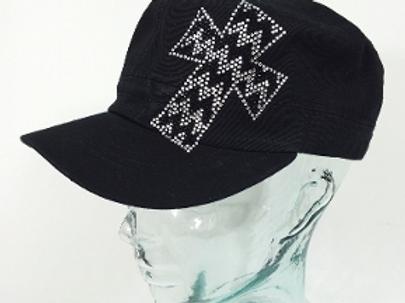 Chevron Cross Patch Hat