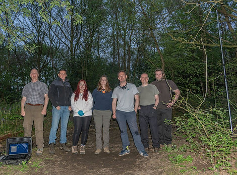 Part of h Woodland Project Survey Group