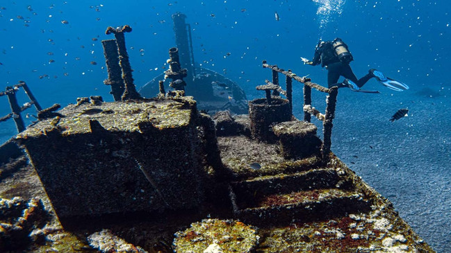 Wreck diving_©St Helena Tourism