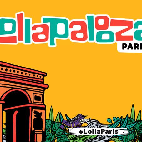 Lollapalooza pose ses valises pour la 3ème fois à Paris