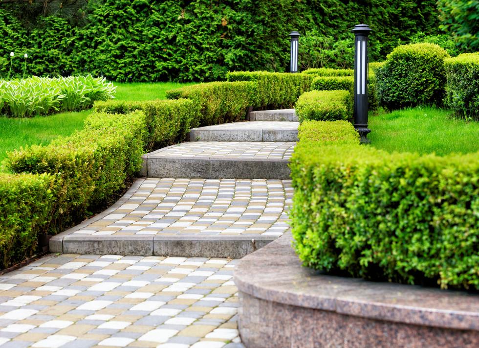 Paved-cobblestone-trail-in-a-beautiful-p