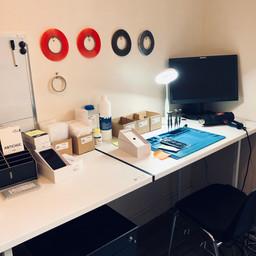 Atelier Réparation smartphones vitré