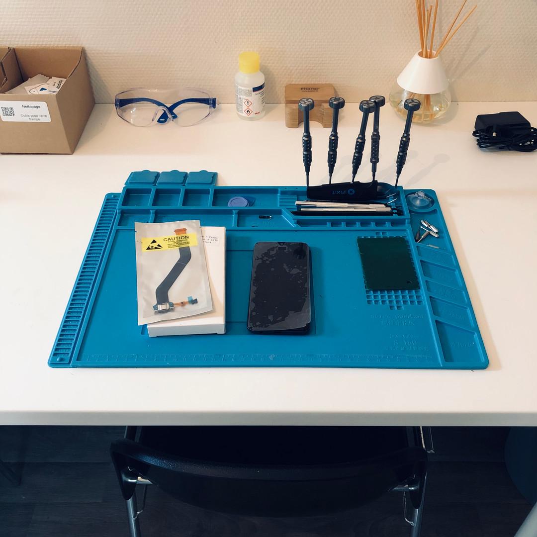 atelier de réparation Smartphone
