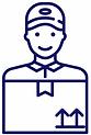Symbol für einen Kurier für Kuerierfahrten in Köln.