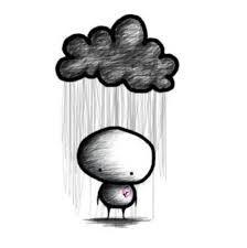 Cuando la nube negra nos persigue