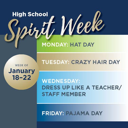 High School Spirit Week