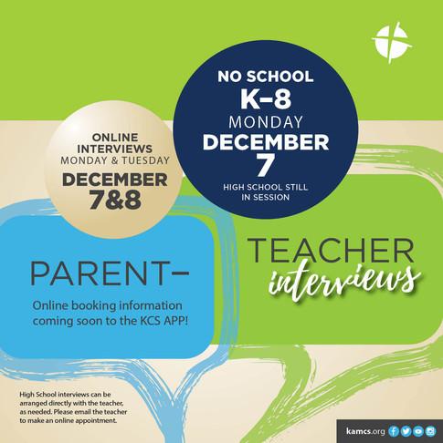 KCS Parent Teacher Interviews