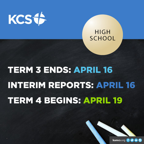 High School Term + Interim Report