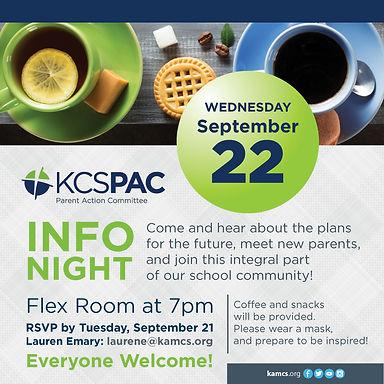 KCS PAC Info Night