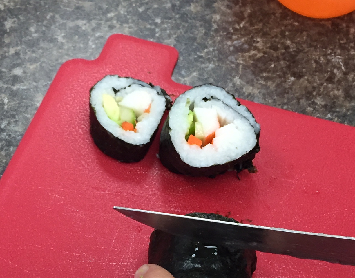 Making Sushi in Foods