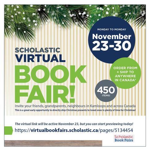 KCS Scholastic Virtual Book Fair