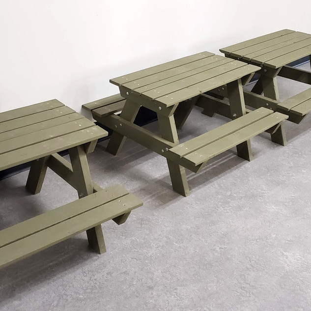 Picnic Tables for the KCS ELC