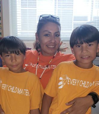 CEA Mrs. Kay and boys