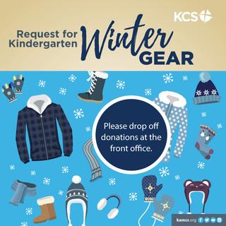 KCS Outdoor Education Winter Gear