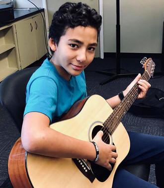 Explore Program, Learning Guitar