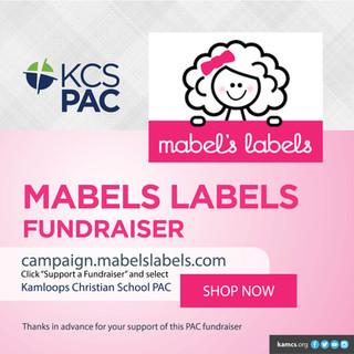 KCS PAC Mabels Labels Fundraiser