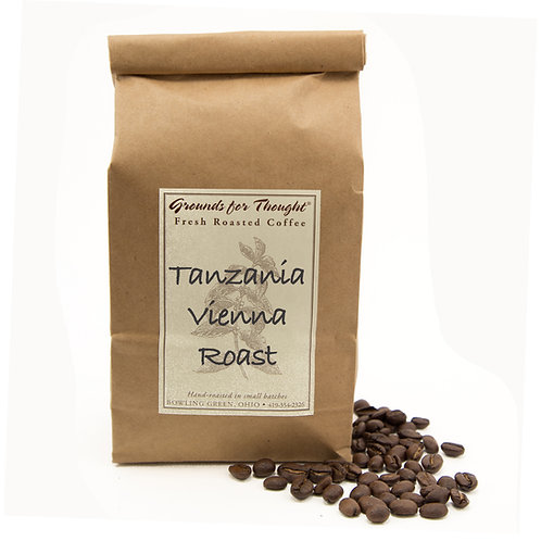Tanzania Peaberry Vienna Roast-1 lb