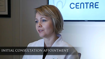 Initial consultation appointment In our office, we offer a complimentary initial consultation to our patients. You do not need a referral to book an appointment with our clinic. The initial consultation is a 40 minute appointment where we get to know you. We take extra-oral (outside of mouth, ie. photographs of the face) and intra-oral (inside of mouth, i.e. photographs of the teeth and gums) photographs and provide an in-person comprehensive orthodontic examination. In some cases, we take necessary x-rays and/or a digital scan of your bite. Then we review the clinical exam findings together. Our aim is to provide answers to all your questions about orthodontic treatment.