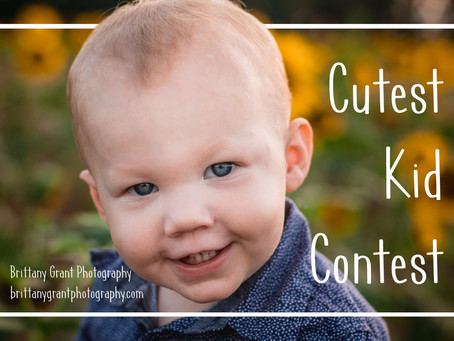 Cutest Kid Contest!!