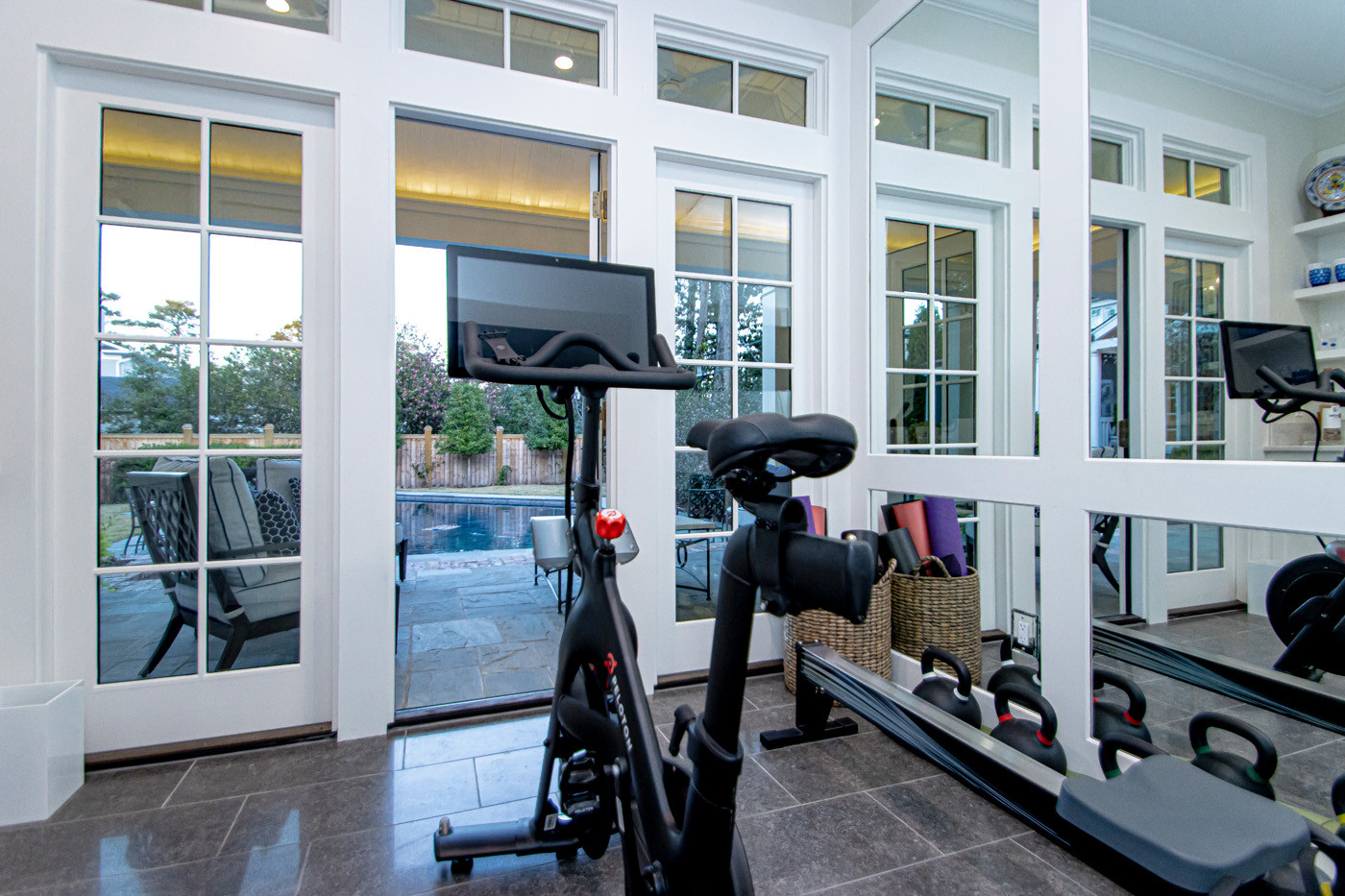 Pool House Gym