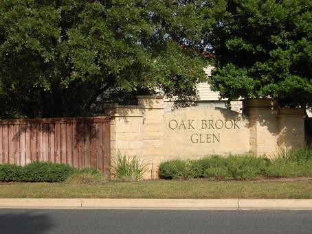 Oak Brook HOA 1st Quarter Newsletter