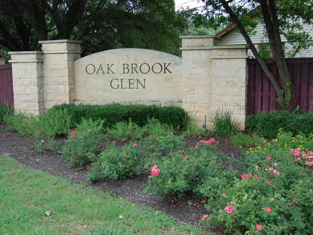 Oak Brook HOA November Board Meeting - 11/9/20 @ 6PM