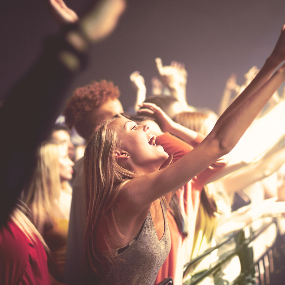 Dancing at a Concert
