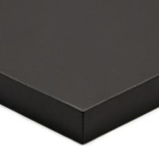 Black Super Matte 2-Sided