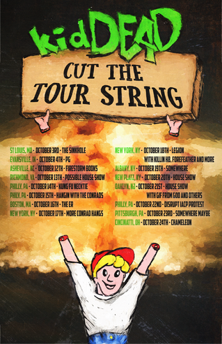 Kicking off KidDEAD Cut The Kite String 2017 Tour