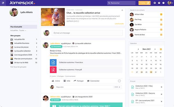Jamespot - Réseau Social Entreprise - Header.png
