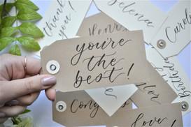 Kraft Paper Custom Gift Tag